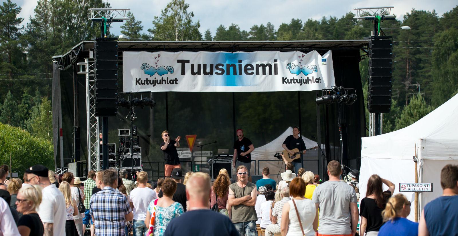 KUTUJUHLAT TUUSNIEMELLÄ 14.-15.7.2017